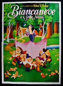 Werbeplakat Schneewittchen E I Sieben Zwerge Snow White - Seven Dwarfs Walt