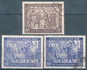 SBZ-Mi-Nr-198-199-a-b-o-034-Leipziger-Messe-034-MICHEL-EURO-26-60