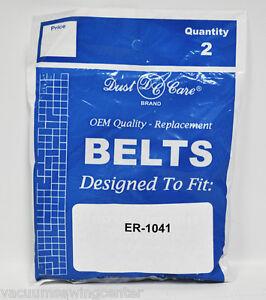 Eureka Sanitaire Style R 4800 Series Vacuum Belts 61110ABC Boss Ultra Smart Vac