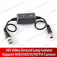 Video Ground Loop Isolator With Signal Filter