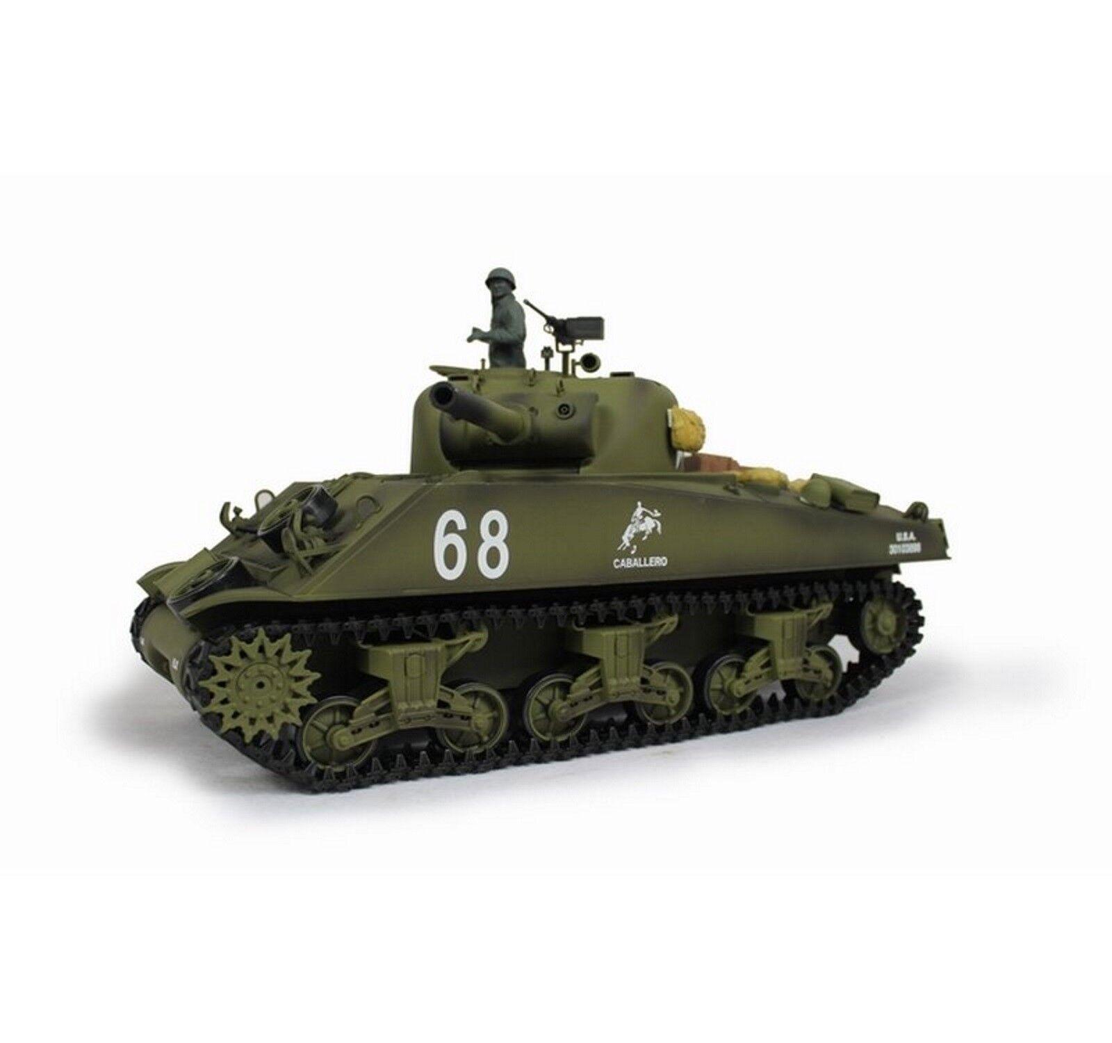Torro Rc Tank Sherman M4A3 105mm Howitzer Bb 1112438981