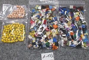 LEGO-0-3-kg-Auction-Minifig-Parts-A-133-100-Figuren-ohne-Haare-querb