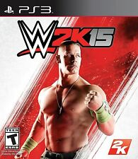 WWE 2K15 PS3 Pro Wrestling Video Game '15 2015 wwf Universe john cena cm punk