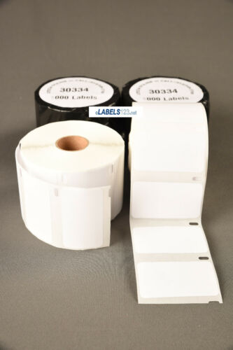 8 Address Rolls Dymo Compatible Return White 30334 Adhesive 1000 Labels Per Roll