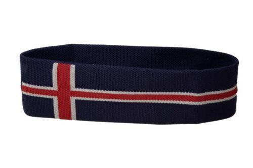 Stirnband Island 6x21cm Schweißband für Sport Headband