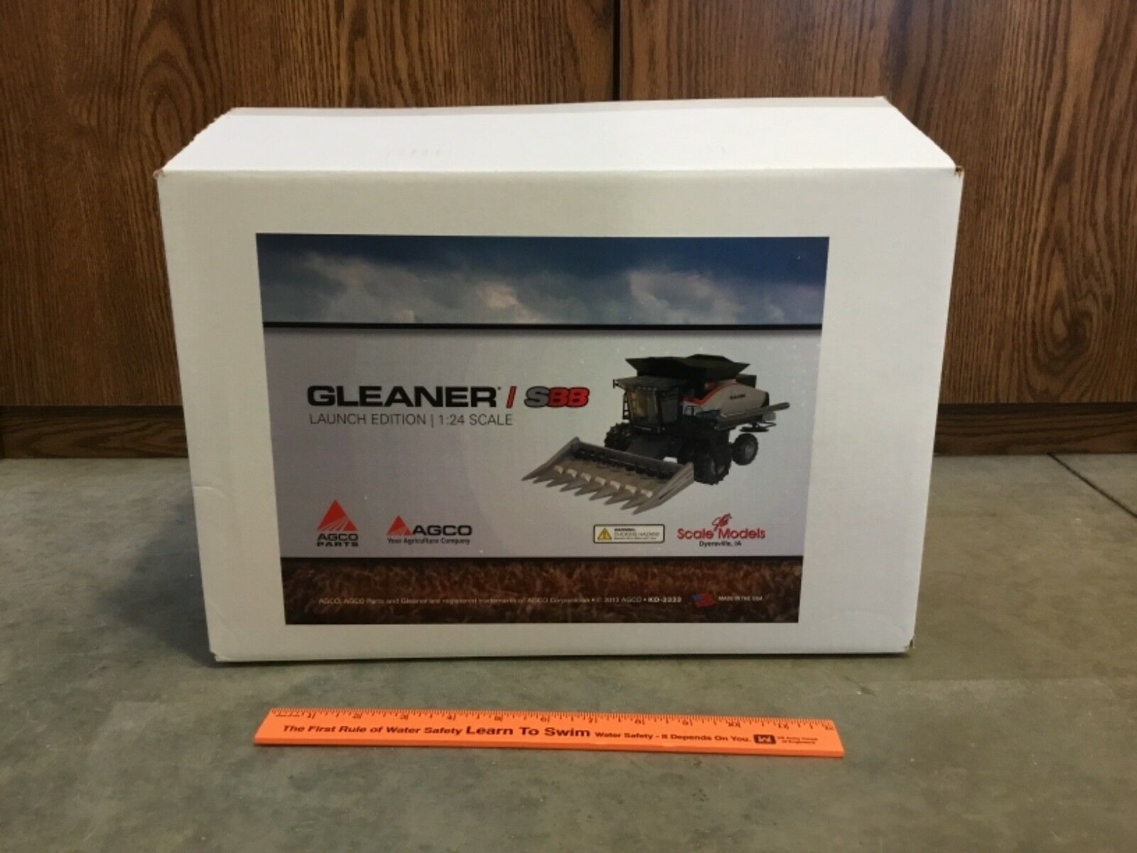 RARE 1 24 Agco Gleaner S88 Official Launch Edition combine  NIB, FREE shipping