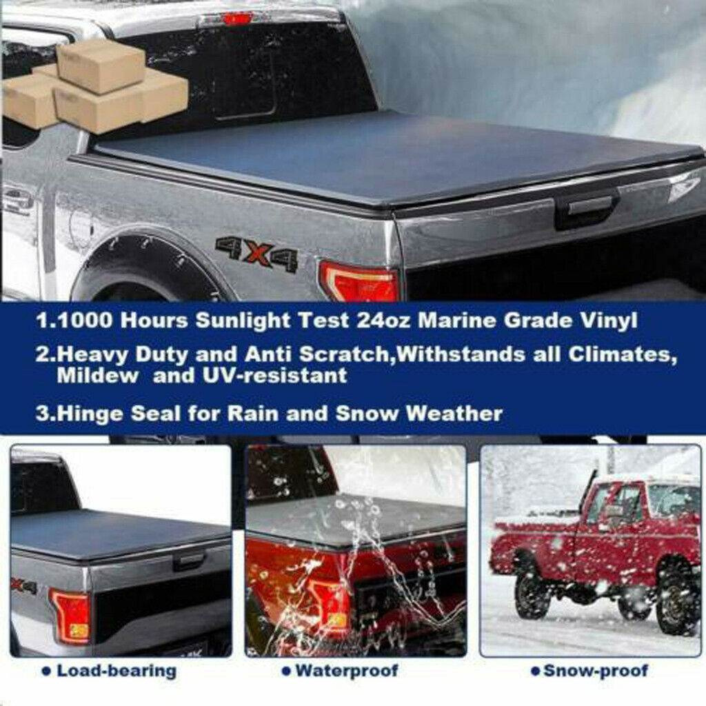 Roll Up Tonneau Cover For 2009 2018 Dodge Ram 1500 Crew Cab 5 7ft Short Bed Auto Parts Accessories Auto Parts And Vehicles