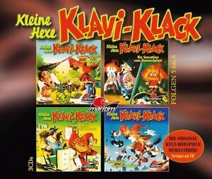 JOACHIM-VON-ULMANN-KLEINE-HEXE-KLAVI-KLACK-FOLGEN-5-8-3-CD-NEW