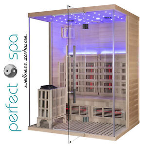 Sauna-Infrarotkabine-Haiti-Wellness-6KW-Saunaofen-1600-x-1350-x-2000-mm-NEU