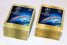 PANINI UEFA CHAMPIONS LEAGUE 2010/2011 10/11 – 100 cartocci packets sobres BUSTINE