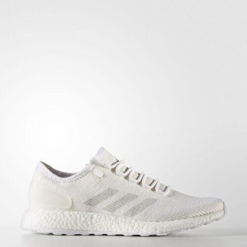 8 Pureboost 9 Running cassé 5 Shoe Nouveau Taille 6 Adidas Mens Blanc Trainer gBTUTxF