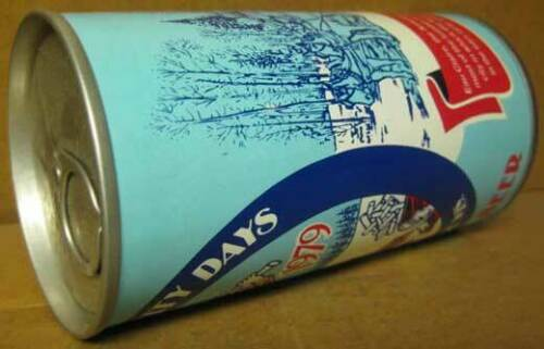 Eau Claire Walter Brewing Co. SAWDUST CITY DAYS BEER ss CAN WISCONSIN 1979 1+
