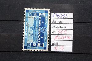 FRANCOBOLLI-ITALIA-REGNO-USATI-N-302-A56263