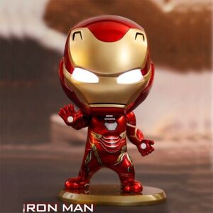 Avengers-Infinity-War-Iron-Man-MK50-With-LED-Light-PVC-Action-Figure-Collectible