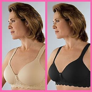 376528ddbed32 Image is loading Classique-Mastectomy-Bra-Seamless-Molded-Cup-Sensual-730-