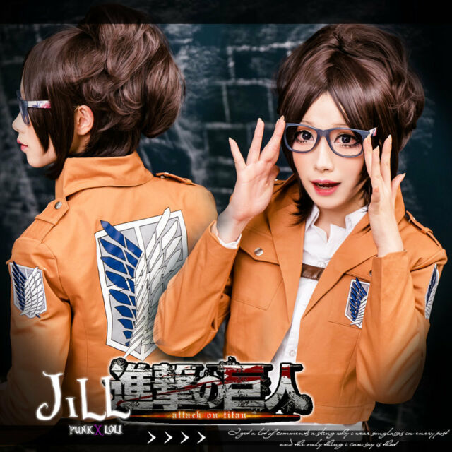 Clothing, Shoes & Accessories Japan anime manga attack on titan Annie Leonhart cosplay costume wig【JPLH034】 Accessories