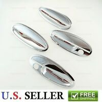 2000-2005 Chevy Impala Chrome Door Handle W/ Passenger Keyhole Trim Covers