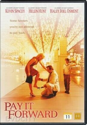 Pay it Forward, instruktør Kevin Spacey, DVD