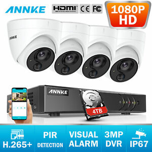 ANNKE-1080P-HD-5in1-4CH-3MP-DVR-Home-Security-CCTV-Camera-System-IR-Night-Vision