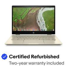 "HP Chromebook x360 Notebook PC 14"" HD Intel Core i3 8GB RAM Chrome OS?"
