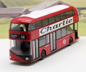 PERSONALISED-NAME-Gift-Corgi-Red-London-Diecast-Route-Master-Bus-Toy-Model-Boxed
