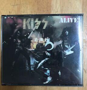 KISS-Alive-2CD-Set-US-Rare-BMG-Music-Club-Issue-Collectors-Item-See-Pics-No-UPC