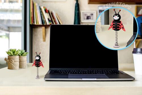 Tenna Tops Red Ladybug Car Antenna Topper Fat Antenna Desktop Bobble Buddy