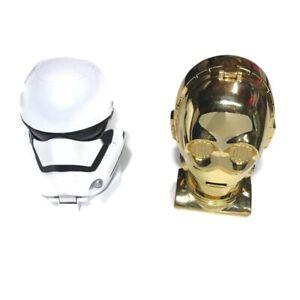 Star Wars Micro Machines 1994 C3PO Storm Trooper Transforming Head Galoob