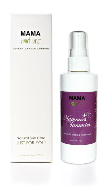 Mummies with Tummies Candida Treatment by Mama Nature (4 floz)-Thrush,Pregnancy