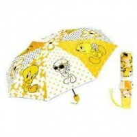 Tweety Bird Folding Umbrella