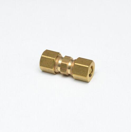 Tubo de cobre de 3//8 Od Compresión Unión Recta Carpintero Montaje De Gas Aire Agua