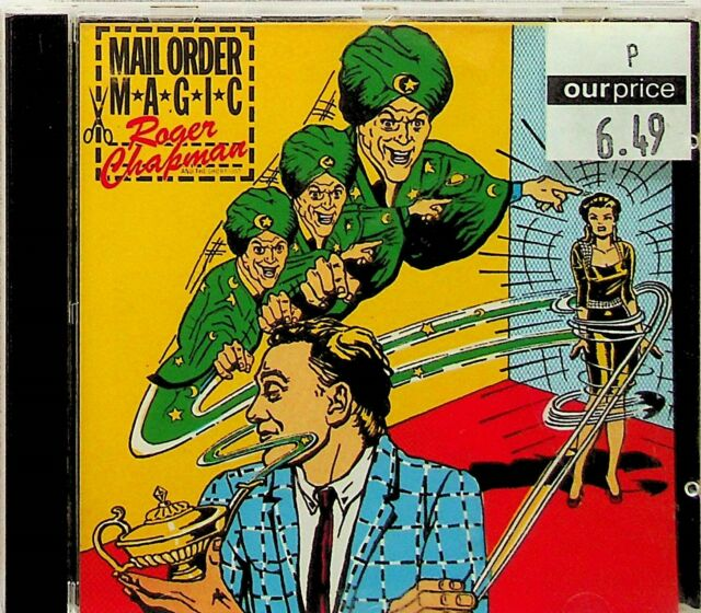 Roger Chapman – Mail Order Magic 1980 Album CD (1992 RE) Family/Streetwalkers