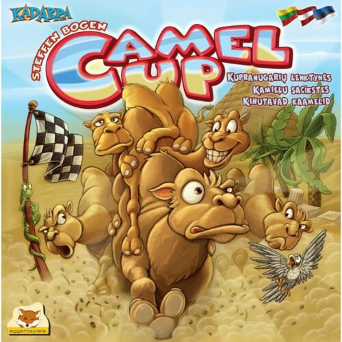 Camel Up Fun Family Racing Easy Board Game Dice Rolling Egypt Roll Sealed Box
