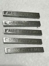 New Listinglot Of 5 Rex 49 516 Square X 2 12 Hss Blank Tool Bits
