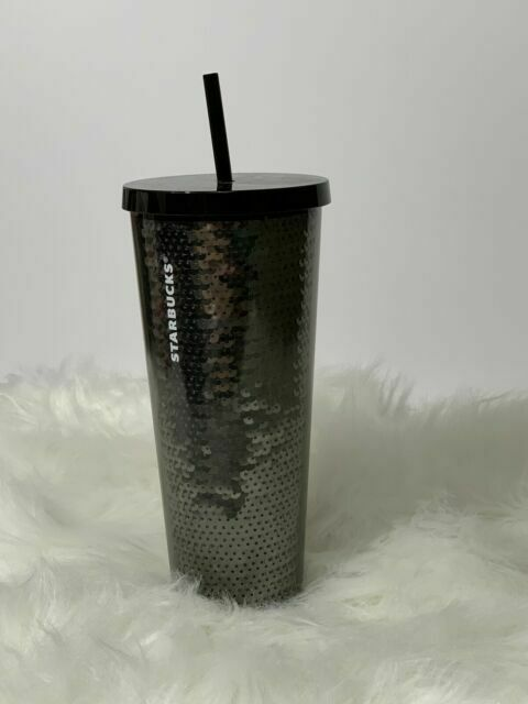 Starbucks Studded Limited Edition Winter Holiday Cold Cup Reusable 24oz Silver