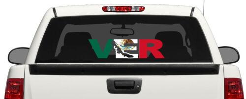 Veracruz letters Decal Car Window Laptop Map Vinyl Sticker Mexico Ver