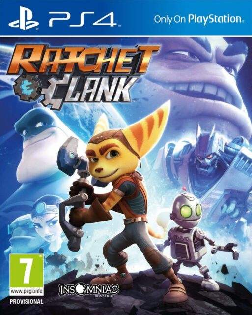 Ratchet & Clank (PS4) - BRAND NEW AND SEALED - IMPORT - QUICK DISPATCH