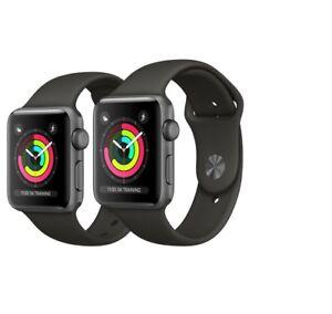 Apple-Watch-Series-3-42mm-Aluminium-Smartwatch-Uhr-Fitnesstracker-Clock