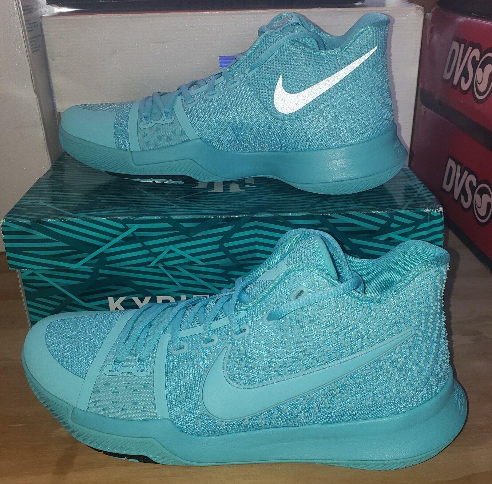 Nike Kyrie 3 Aqua 852395 401 Aqua Blue