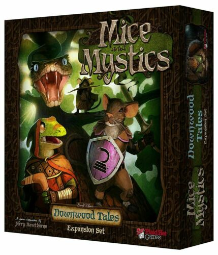 Mice and Mystics Downwood Tales Expansion Plaid Hat Games NEW SEALED