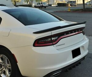 2018 Dodge Charger Rallye >> #553 Matte Black FACTORY STYLE Hellcat SPOILER fits the 2011 - 2018 CHARGER | eBay