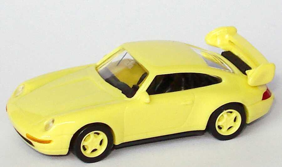 1:87 Porsche 911 RS Club sport 993 993 993 jaune avec Cage de sécurité euromodell 00406 dbeea7