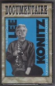 VHS-NEUVE-SOUS-CELLO-LEE-KONITZ-PORTRAIT-DE-L-039-ARTISTE-EN-SAXOPHONISTE-DAUDELIN