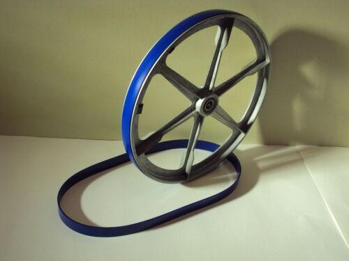 2 Blue Max Heavy Duty uréthane bande scie pneus pour Elektra Beckum Bas 316 gwnb Scie