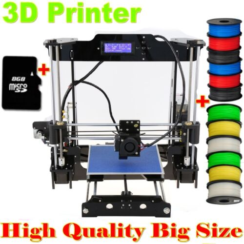DIY Self-Assembly Auto Leveling 3D Printer High Precision Acrylic Frame i3