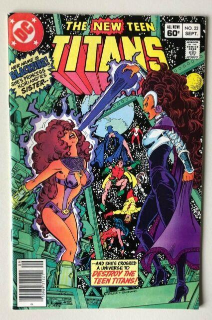The New Teen Titans 23 - KEY - 1st full app of Blackfire