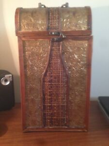 Image Is Loading Three Hands Corp Wine Bottle Carrier Storage Gift