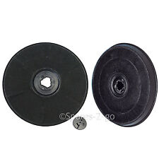 2 x EFF57 Type Carbon Charcoal Filter for ZANUSSI Cooker Hood Vent Extractor Fan