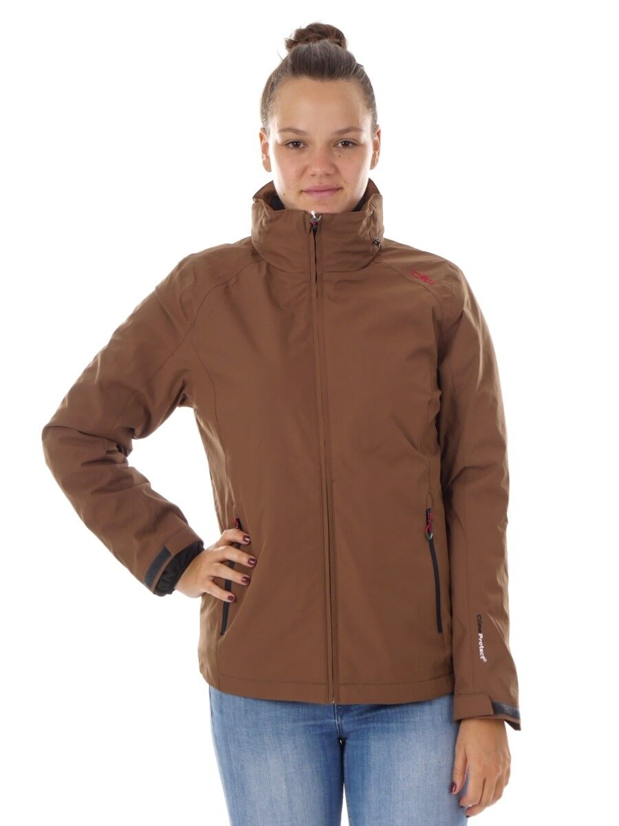 CMP vellón  función chaqueta 3in1 chaqueta marrón climaprojoect ® caliente  primera reputación de los clientes primero