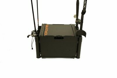 Kayaking, Canoeing & Rafting Yakattack Blackpak Kayak Fishing Storage Crate With Rod Holders Products Are Sold Without Limitations